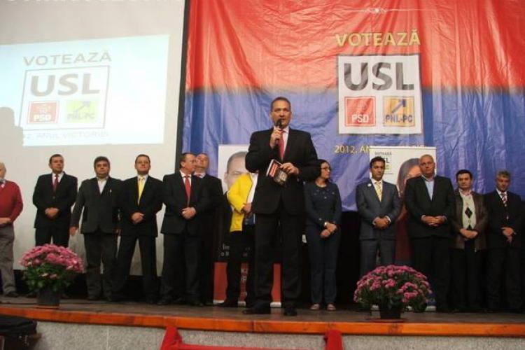 USL și-a lansat oficial candidații la Huedin