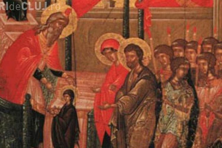 Intrarea Maicii Domnului în Biserică. Prima sărbătoare din Postul Crăciunului