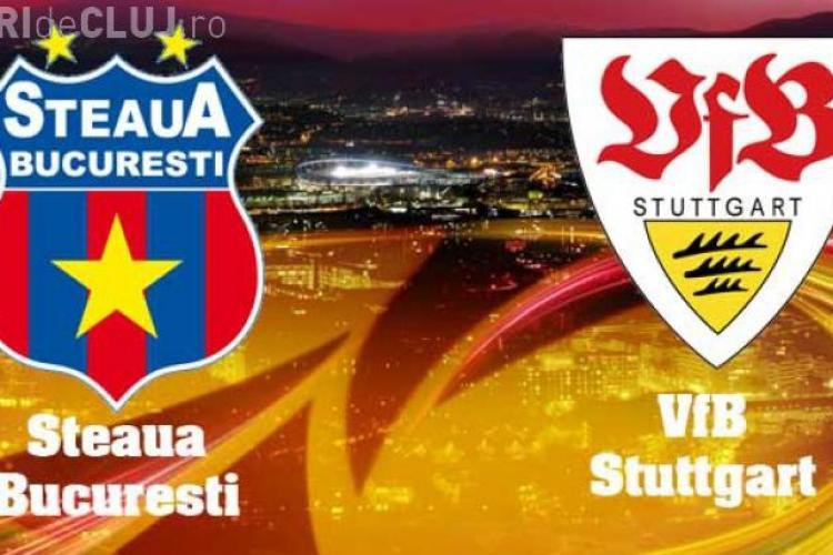 Steaua - Stuttgart 1-5! REZUMAT VIDEO