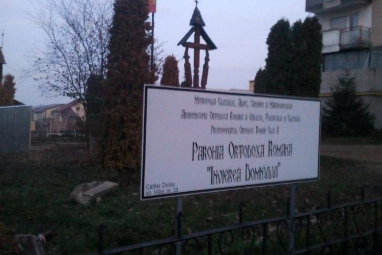 Parc VERDE distrus în Zorilor, pe strada Viilor, pentru a face loc unei biserici mastodont - FOTO