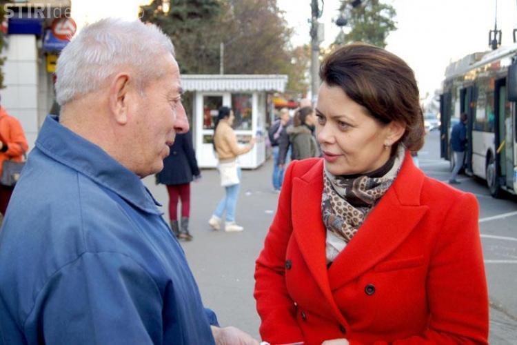 Aurelia Cristea, linie verde cu cetățenii