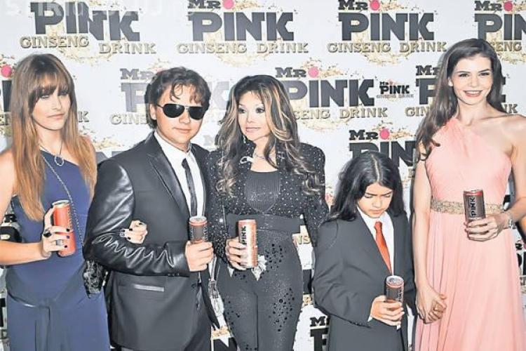 Monica Gabor stârneşte scandal în familia lui Michael Jackson