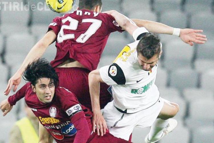"""""""U"""" Cluj - CFR Cluj un derby jucat pe GRATIS!"""