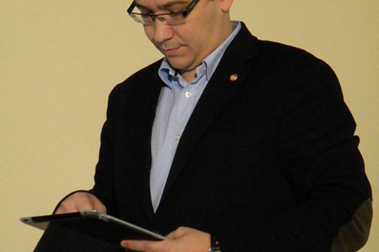 Un deputat clujean îl acuză pe Ponta de plagiat