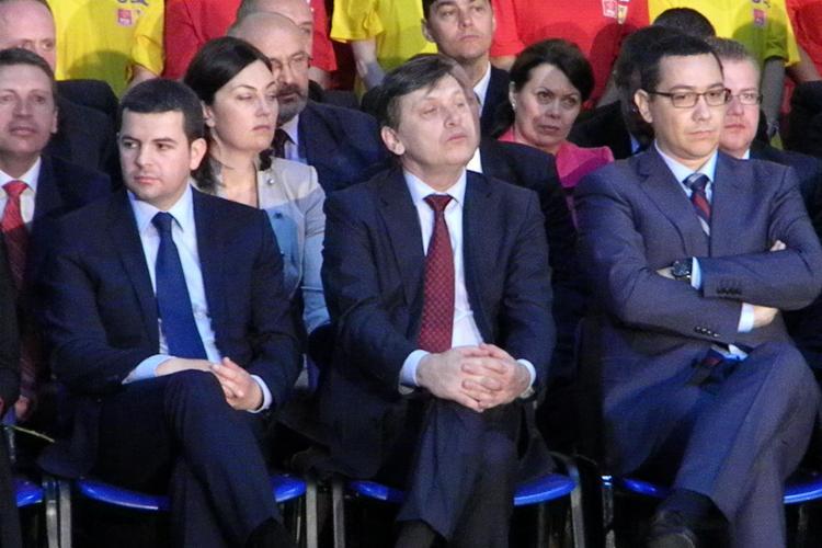 Victor Ponta şi Crin Antonescu ajung azi la Cluj UPDATE