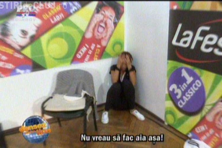 """DANSEZ PENTRU TINE: Bianca în lacrimi: """"Nu vreau să fiu porno"""""""
