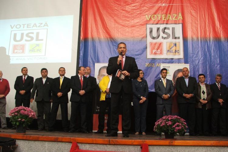 USL Cluj şi-a lansat candidații la alegerile parlamentare pentru Huedin și zona de munte