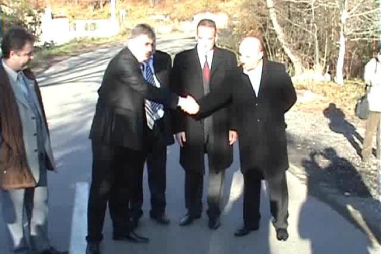 Drumul judeţean Sălicea-Ciurila a fost inaugurat. Investiţia a fost de 5,7 milioane lei - VIDEO