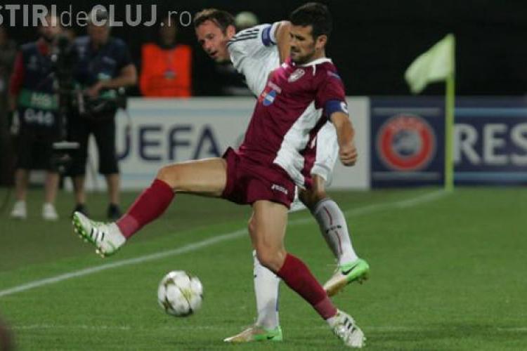 CFR în formulă inedită pentru meciul cu Braga. Ce mutări a făcut Paulo Sergio