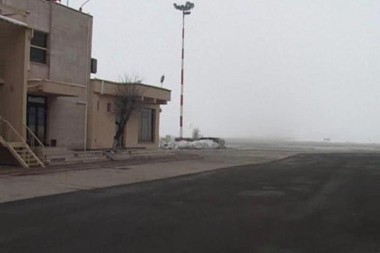 Aeroportul din Cluj, închis din cauza ceții