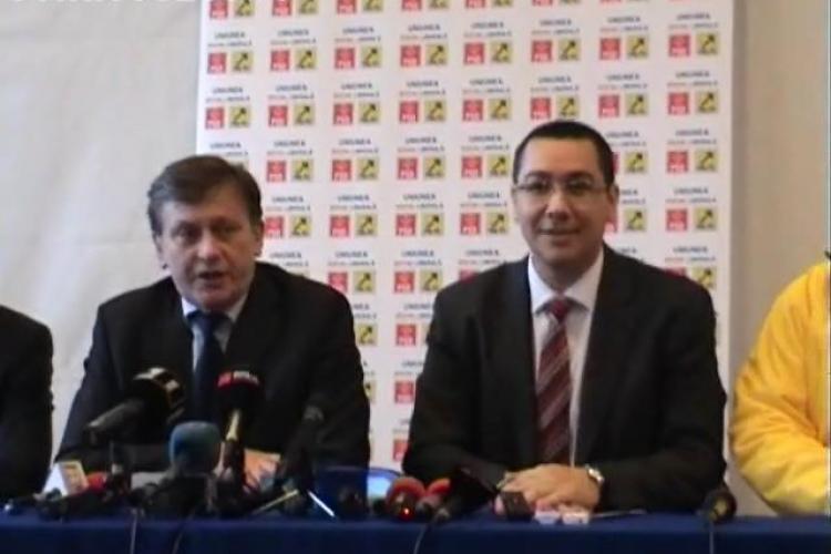 """Ponta: """"Îl sprijinim pe Băsescu să nu cedeze"""""""