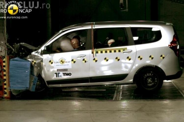 Doar 3 stele pentru Dacia Lodgy la testele de siguranţă EuroNCAP