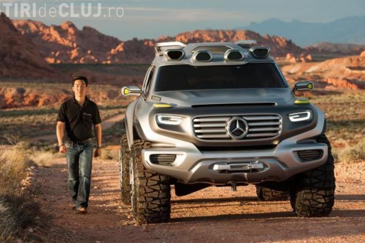 Mercedes Ener-G-Force. Maşina care merge cu apa de ploaie