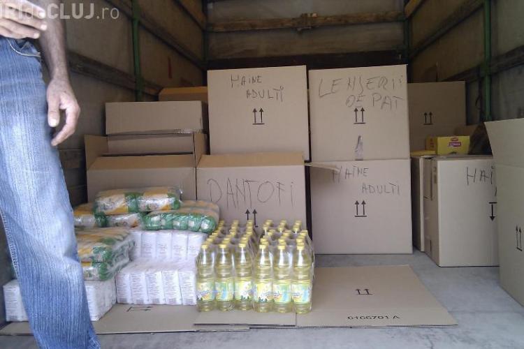 PNL Campia Turzii trimite ajutoare in satul Holt, judetul Bacau