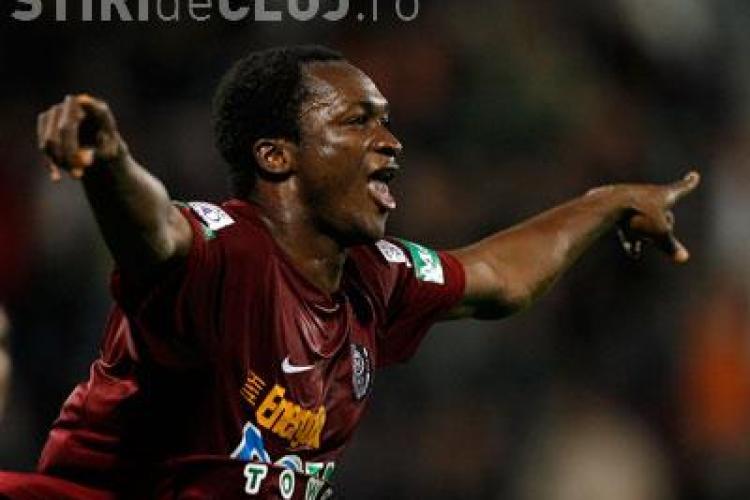 Yssouf Kone va pleca de la CFR Cluj in aceasta vara. Ofertele vin din Rusia si de la FC Vaslui, dar jucatorul refuza