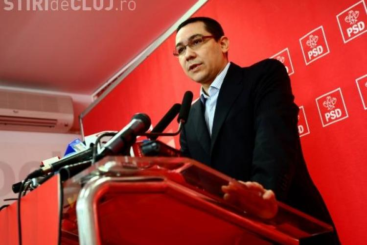 "Ponta: ""M-au oprit clujenii pe strada sa imi ceara sa ii scap de Boc"""