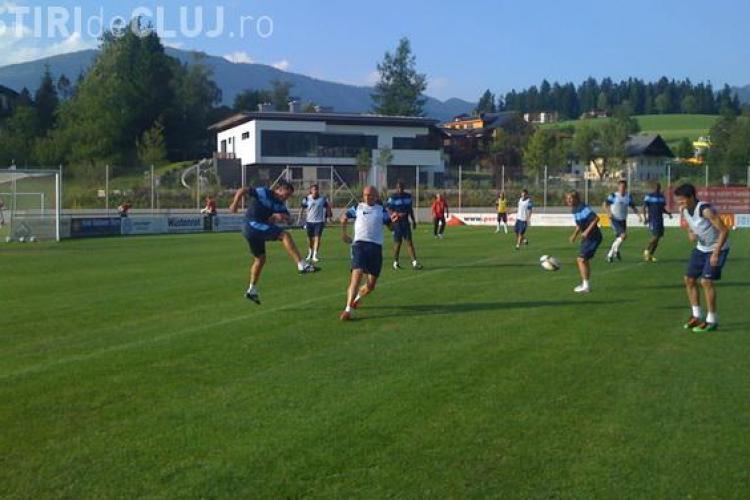 CFR Cluj - SV Grodig 5-3 in amicalul din cantonamentul din Austria. Traore a inscris 3 goluri !