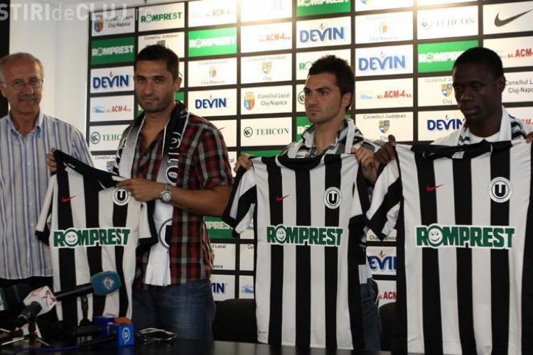 """Claudiu Niculescu: """"Nu am venit oriunde, ci la cea mai iubita echipa din Ardeal"""""""