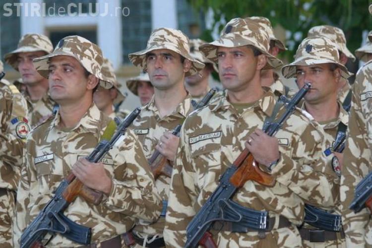 """Militarii din Cluj au primit """"cadou"""" de la Guvern 14,6 hectare pentru a-si construi case"""