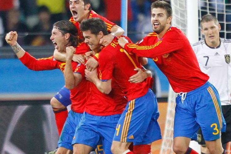 Puyol inscrie un gol de senzatie in poarta Germaniei si duce Spania in finala Campionatului Mondial! VEZI GOLUL