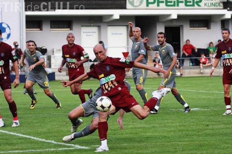 Jucatorii de la CFR Cluj nu si-au primit primele pentru castigarea Campionatului si a Cupei