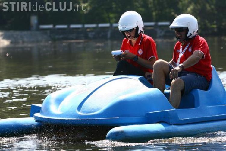 Danny Ungur si Tony Avram au castigat Raliul Sibiului ... pe apa