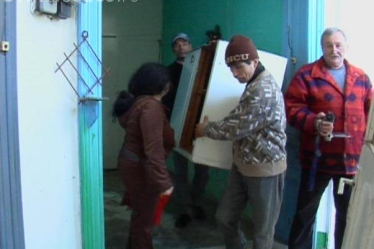 Persoanele executate silit nu vor putea fi evacuate din casa pe timpul iernii