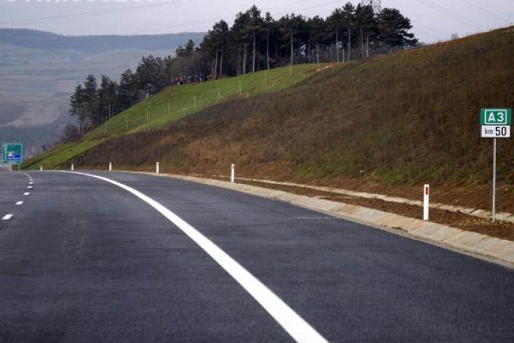 Guvernul isi va asuma in august noi angajamente privind finantarea lucrarilor la autostrada Transilvania