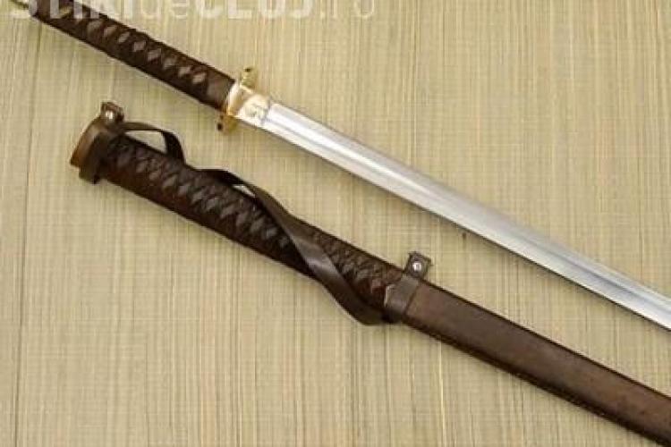 Un barbat din Iclod a fost batut si atacat cu o sabie