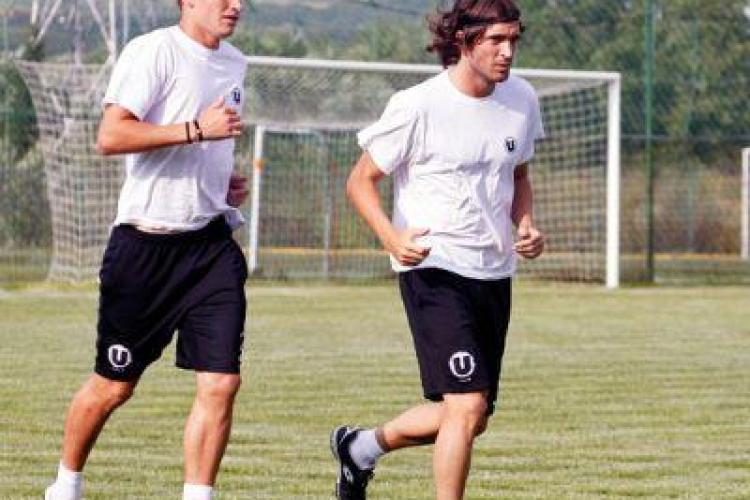 U Cluj mai are programate doua partide de pregatire, cu FC Zalau si Gaz Metan Medias