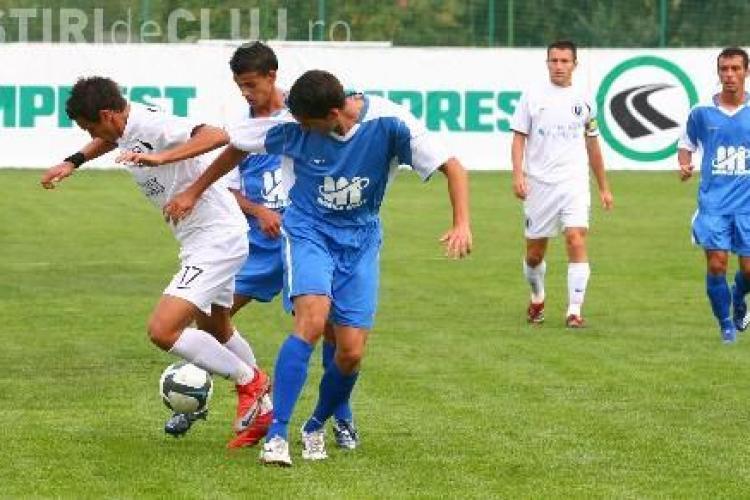 U Cluj - Gaz Metan Medias 0-2. Debut cu doua infrangeri pe banca tehnica pentru Marian Pana