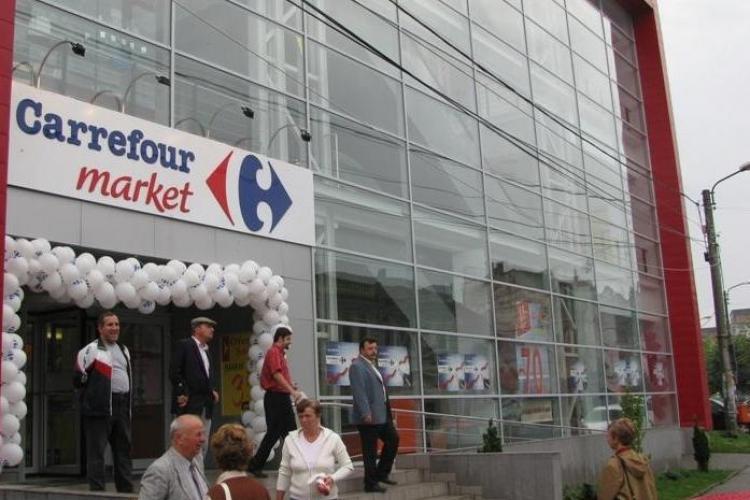 Carrefour Turda si-a inschis portile la nici un an de la deschidere
