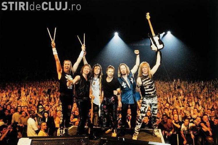 Parcarea in care urmeaza sa cante Iron Maiden in concertul de la Cluj este amenintata de alunecarile de teren