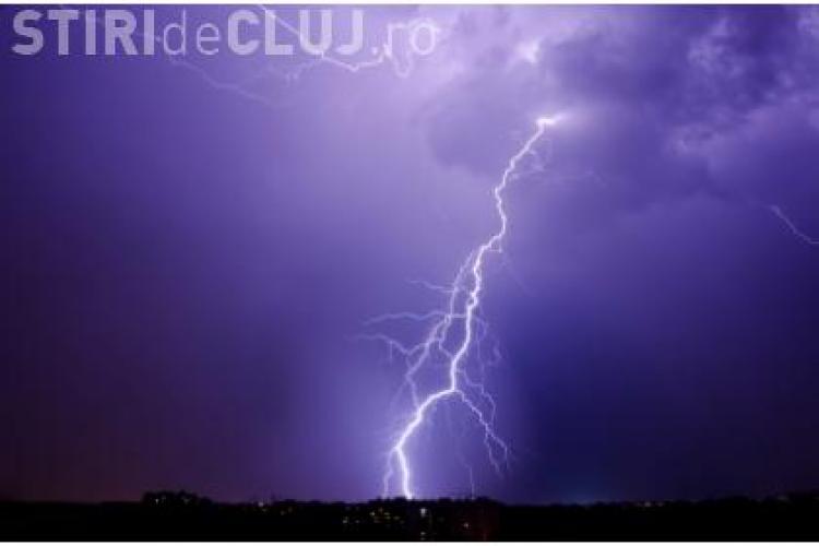 O furtuna puternica a lasat Apahida fara curent electric