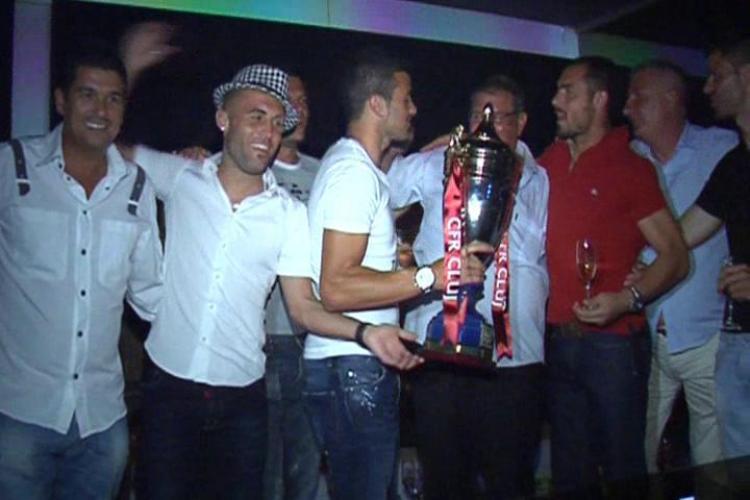Supercupa Romaniei, sarbatorita in Obsession de CFR Cluj! - VEZI VIDEO si FOTO de la petrecere