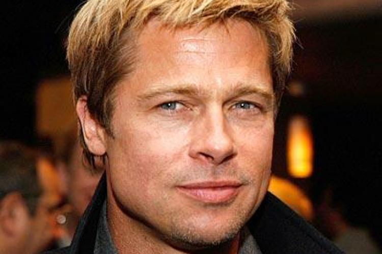 "Brad Pitt vrea sa lucreze si cu actori romani in filmul ""Vlad"""