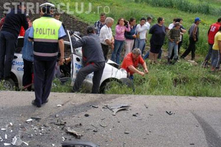 Accident la Bontida! Cinci persoane ranite, intre care si un minor de 9 ani