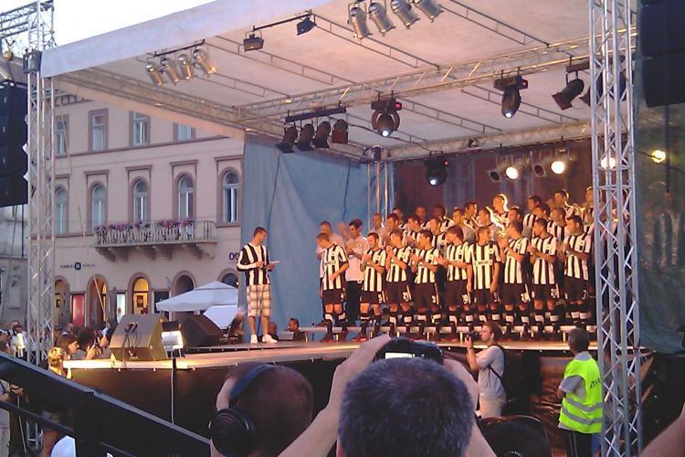 U Cluj joaca pe o prima de 2.000 de euro
