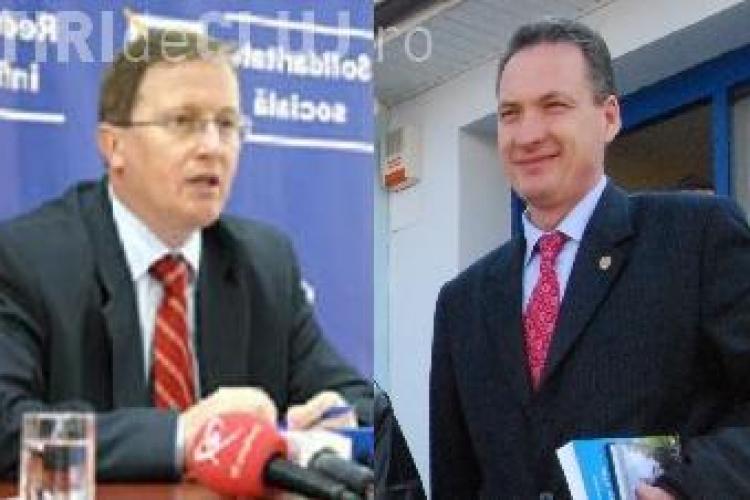Senatorul Alexandru Cordos si Remus Lapusan se lupta pentru sefia PSD Cluj