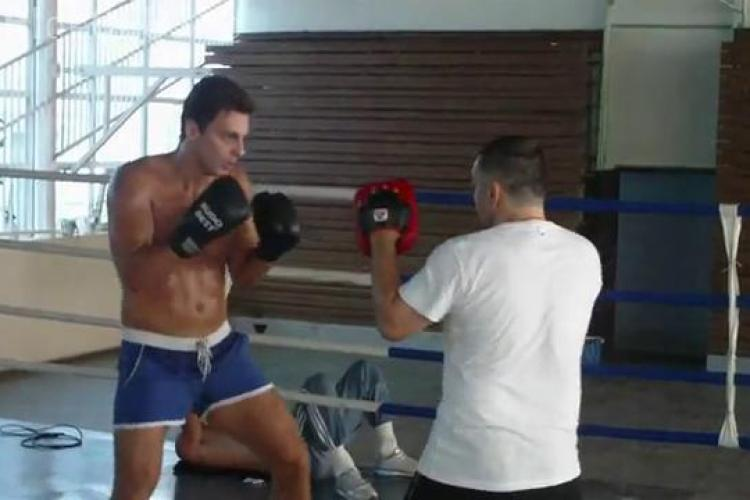 Mircea Badea a boxat cu Doroftei - VEZI VIDEO