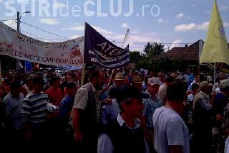 Boc s-a tinut de promisiune: s-a intalnit astazi cu fermierii din Transilvania