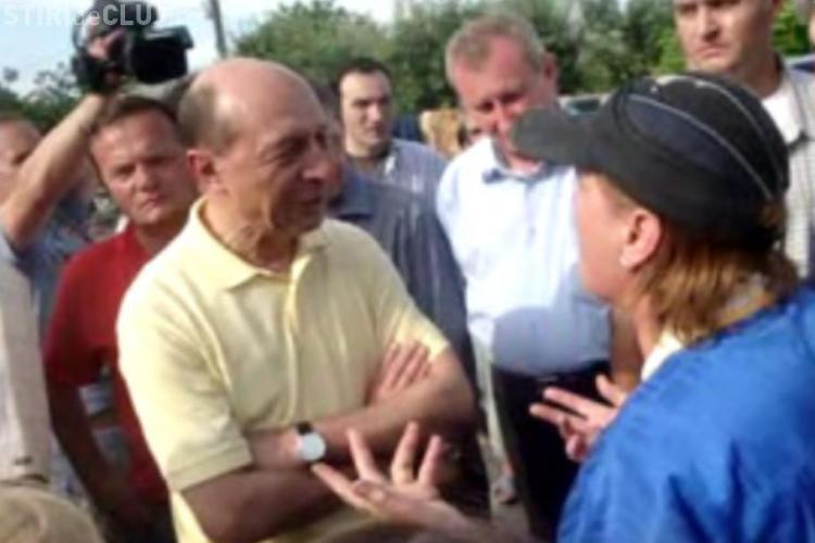 "Presedintele Basescu ii ironizeaza pe sinistratii din Moldova: ""Hai sa renuntam la tatisme!"" - VIDEO"