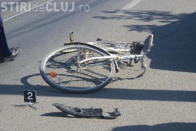 Biciclist ranit grav intre Floresti si Gilau