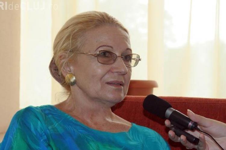 Vocea Teleenciclopediei, Lucia Muresan, s-a stins din viata la Cluj