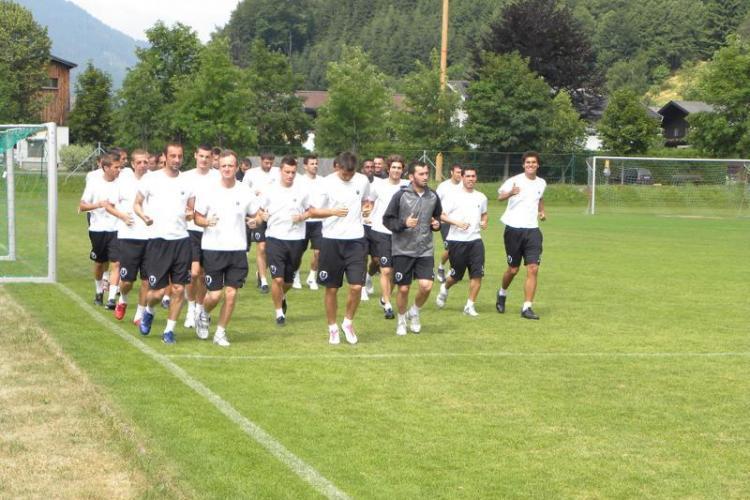 U Cluj revine luni din cantonamentul din Austria