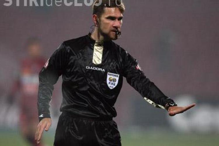 Tudor va arbitra Universitatea Craiova-CFR Cluj si Hategan U Cluj-Steaua! Vezi delegarile din prima etapa a Ligii 1