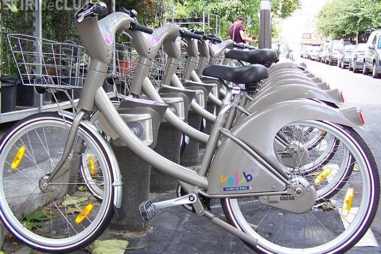 Biciclete inchiriate la Cluj numai cu buletinul de luni, 12 iulie