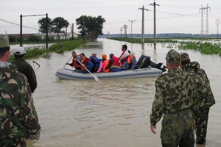 Deputatul de Cluj Mircia Giurgiu a initiat constituirea unui fond pentru reconstructia locuintelor inundate