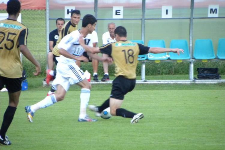 Meci amical: Universitatea Cluj - Neftchi Baku 1-0