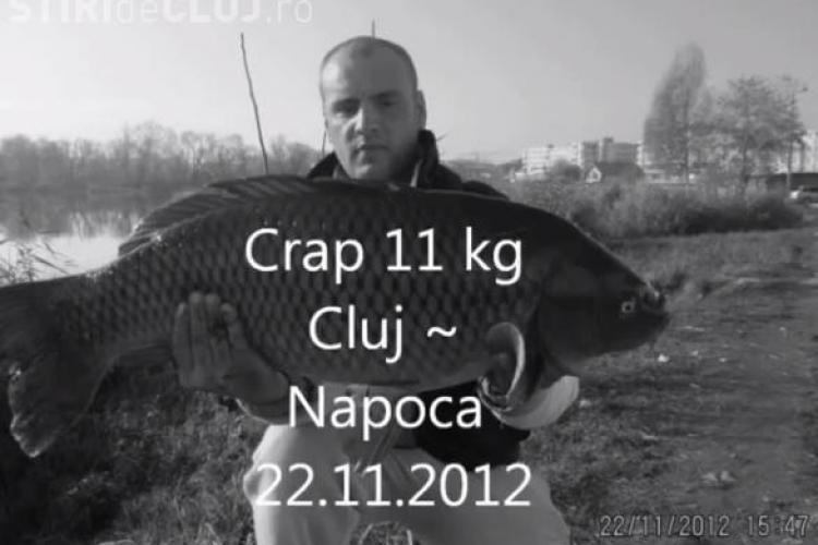 Lacul din Gheorgheni are pește. Un clujean a postat un film în care își prezintă capturile - VIDEO